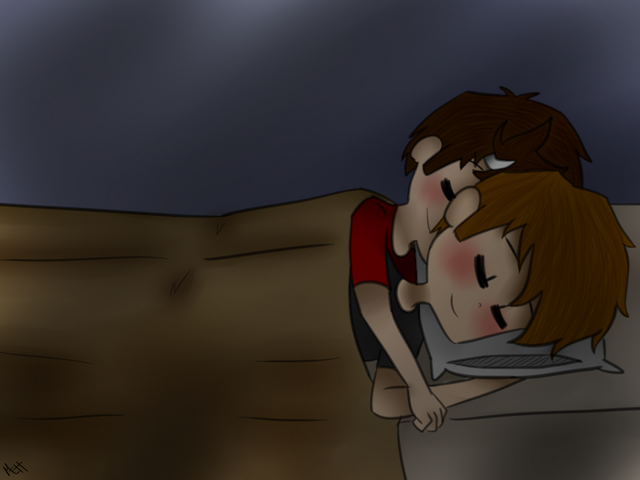 File:Day 17 spooning by fanaticfangurl-d6k33r3.png