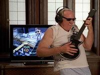 Warden Hazelwood Plays Guitar Hero III