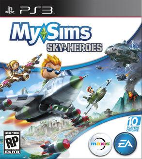 SkyHeroes PS3 Boxart