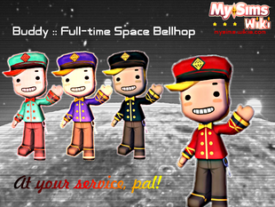 Buddy Space Bellhop