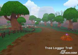 Tree Logger Trail
