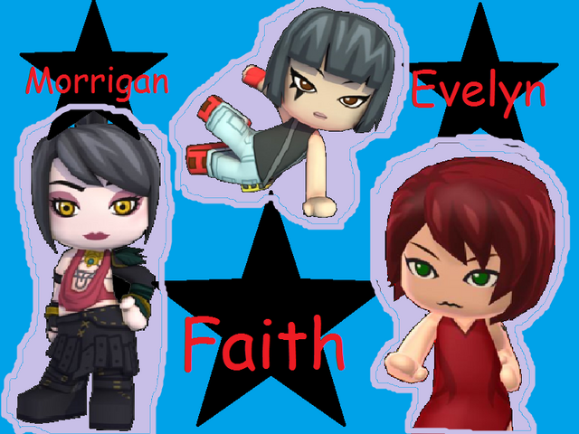 File:Faith, Morrigan and Evelyn Wallpaper 800x600.png
