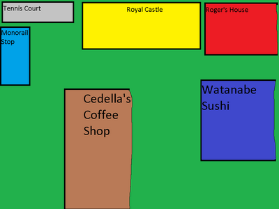 MSRCRS Royal Courtyard Map
