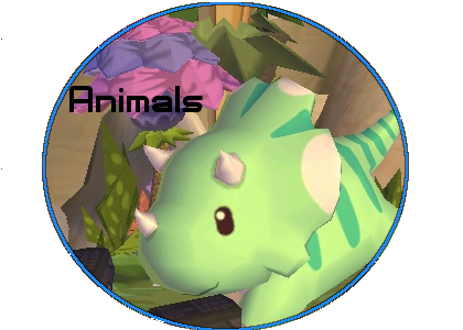 Animals Button