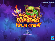 Loading Screen Dawn of Fire 1.7.0