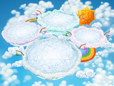 Map cloud