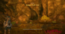 Hungry troll cave load