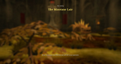 The minotaur lair load