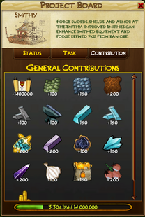 Contribution page