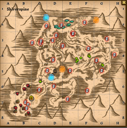 Shiverspine map
