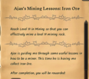 Ajax's Mining Lessons: Iron Ore