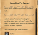 Searching For Samuel
