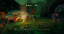 Daggertooth pits load