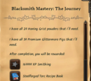 Blacksmith Mastery: The Journey