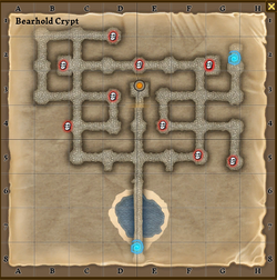 Bearhold crypt map