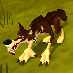 Monsters RabidWolfInvader