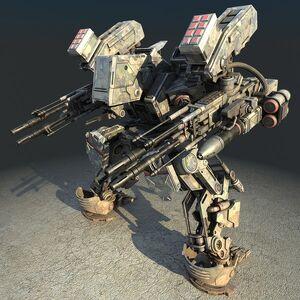 American Legion Warrior Mech