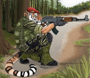 Kostia Tiger by ebonytigress