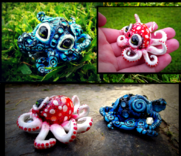 Sold baby octopus mushroom and blue fire by wood splitter lee-d63yypo