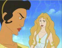 Aphrodite and artemis