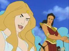 Aphrodite and artemis 3