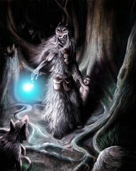 Wolf Wizard by BustedFluxcapacitor