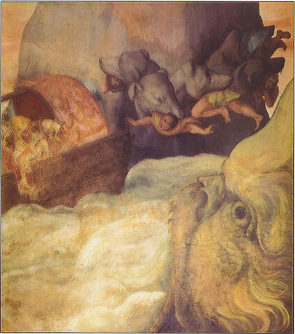 File:Scylla attacks Odysseus's boat.jpg