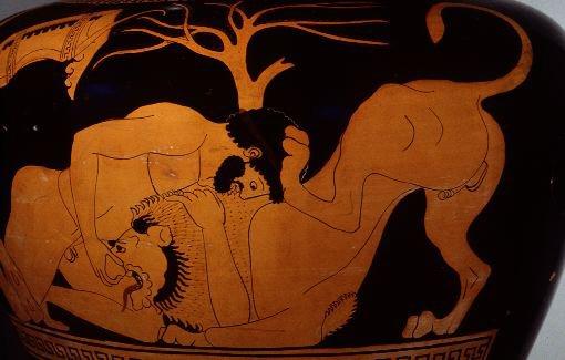 File:Heracles vs the Nemean Lion.jpg
