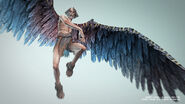 Icarus in God of War II (2)