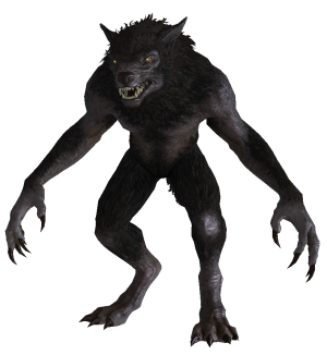 File:Werewolf from Skyrim.png