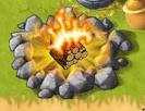 Campfire Lit