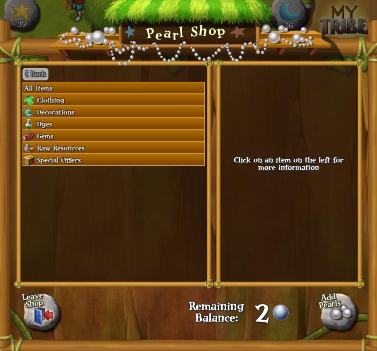 Pearl Shop