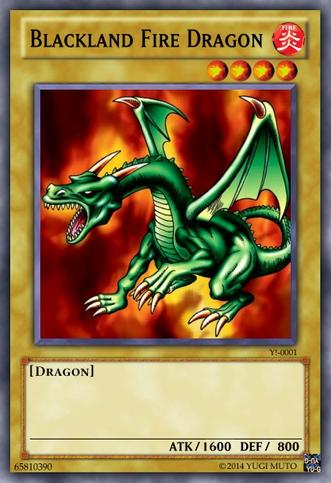 Blackland fire dragon