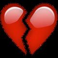 File:Broken heart emoji.png