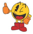 Pacman thumbs up