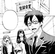 The Student Council shocked upon hearing the news