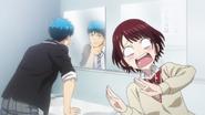 Yamada's reaction to Miyabi