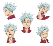 Ban anime character designs 1