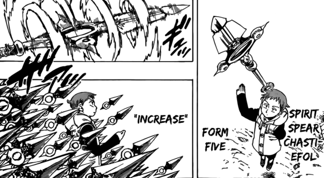 File:King using his spear's form five Increase.png
