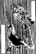 Gilthunder cutting Meliodas' sword sheath