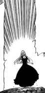 Margaret running toward Gilthunder to stop him