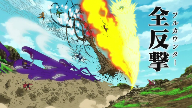 File:Meliodas using Full Counter against multiple knights attacks.png