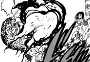 Guila stopping a Hybrid Demon