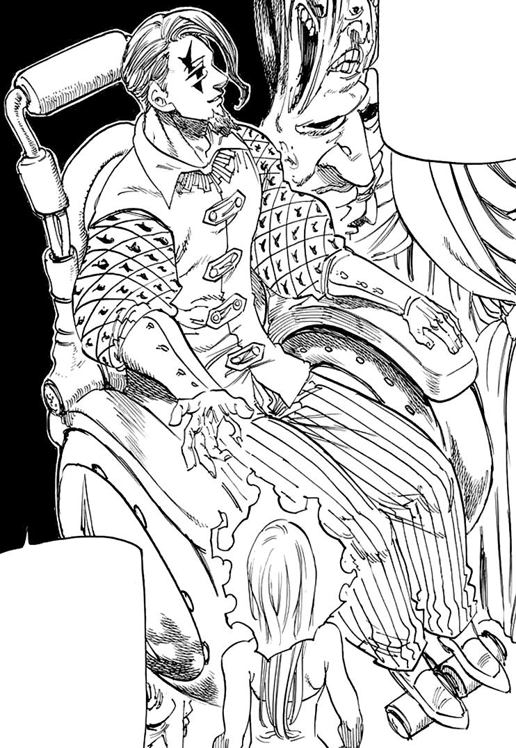 Gowther (Demon)/Image Gallery | Nanatsu no Taizai Wiki ...