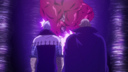 Hendrickson and Helbram trying to resurrect the demon clan