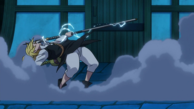File:Meliodas catching Gilthunder's spear.png