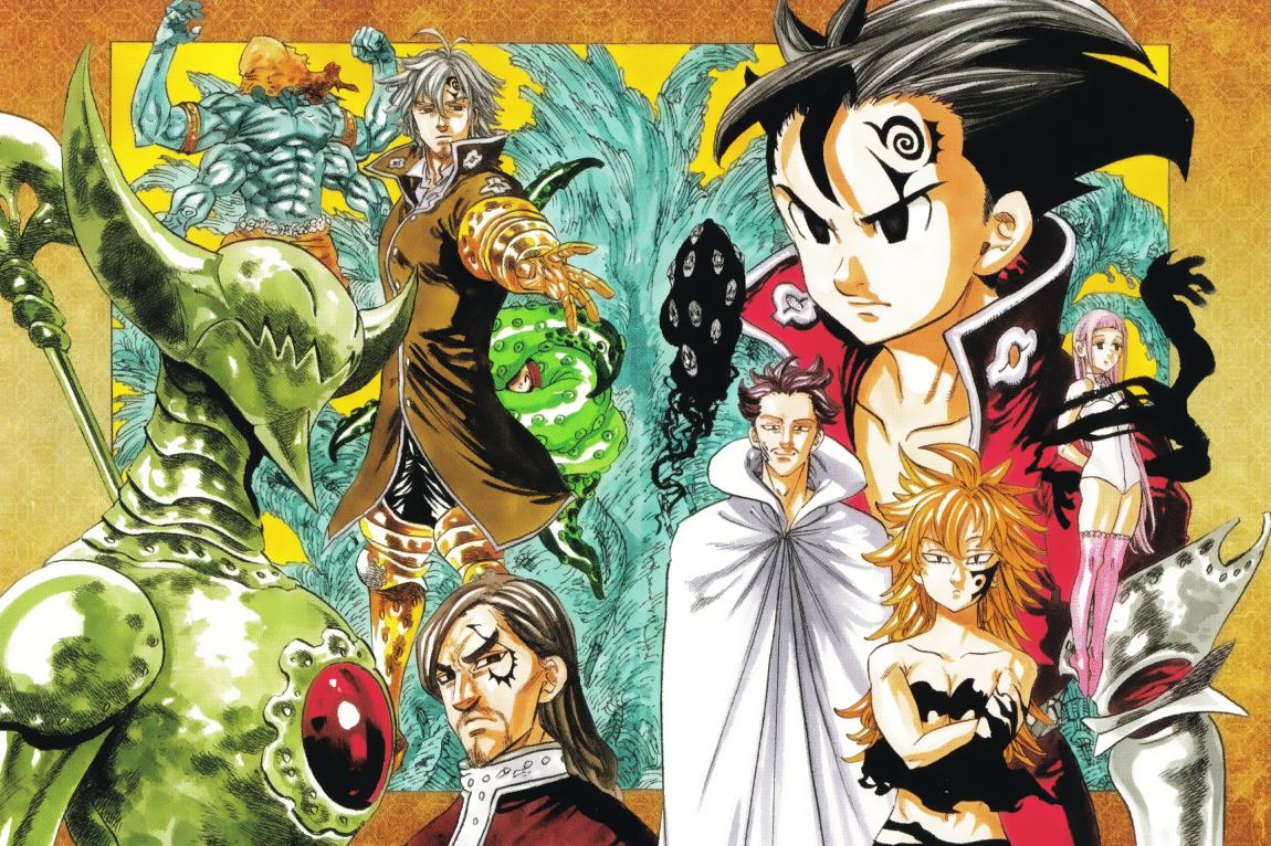Nanatsu No Taizai Wallpaper - Nanatsu no Taizai Wallpaper HD 4K for PC - Anime ...