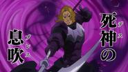 Knight using Death Breath