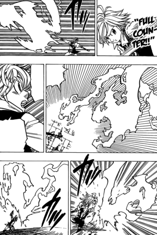 File:Meliodas using Full Counter on Gilthunder's Pursuit of the Lighting Beast.png