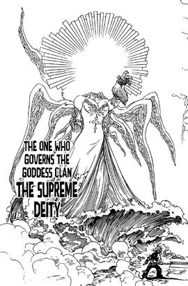 Supreme Deity full appearance